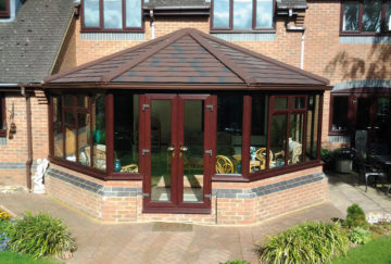 guardian roof tiled conservatory bridwater somerset