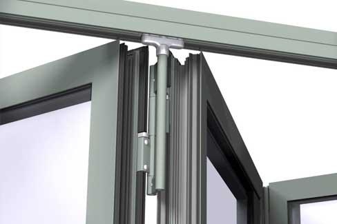 Aluminium Bi-Fold Doors Hub