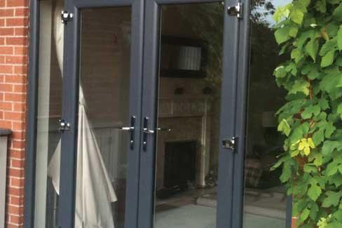 Aluminium French Doors Somerset