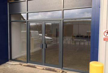 Commercial Aluminium Doors, Somerset