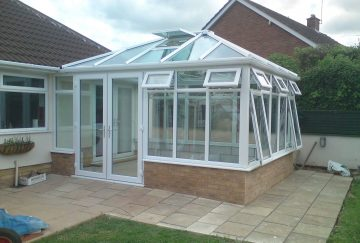 uPVC Conservatory Roof with Ventilation