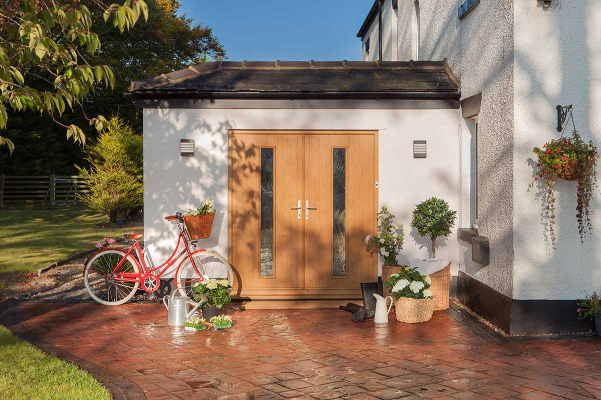 Supply only Solidor Composite French Doors, Somerset
