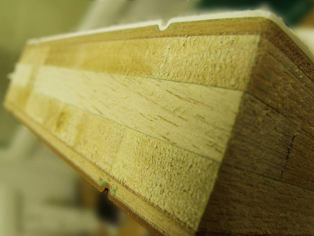 Composite Door Materials - Wooden Core