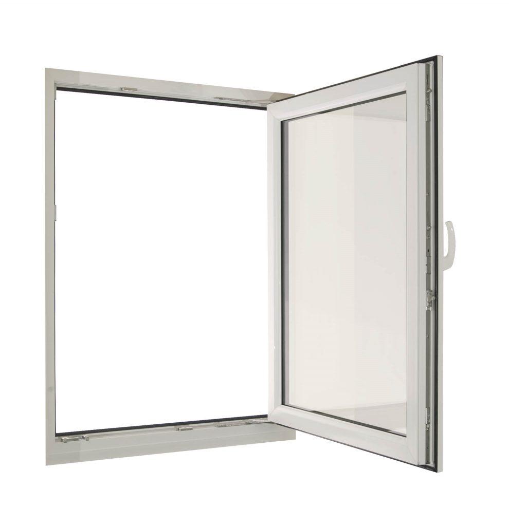 uPVC Tilt and Turn Window - Full Opening