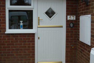 uPVC Liniar Stable Doors, Somerset