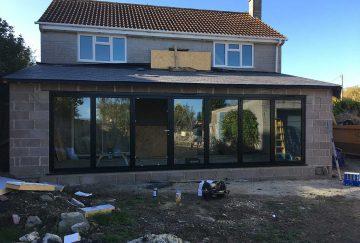 Aluminium Bi-Fold Doors Installation Somerset