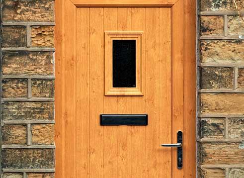 Wood Effect Residential uPVC Doors Bridgwater