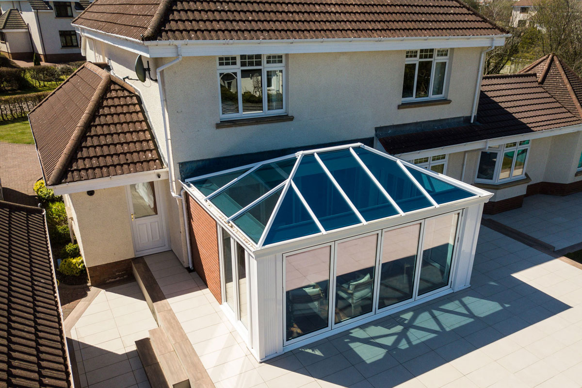 Tiled Conservatory Roofs Bridgwater, Somerset